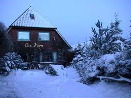 Haus Cap Horn anno dazumal im Winter