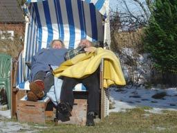 Ehepaar Sokollek bei der Arbeit