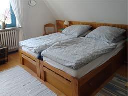 Ferienwohnung 1 - Bett