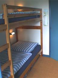 Ferienwohnung 1 - Etagenbett
