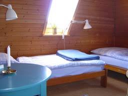 Ferienwohnung 3: Betten über Eck