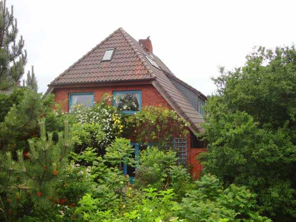 Haus Cap Horn in Nebel auf Amrum mit drei Ferienwohnungen